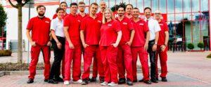 Mitarbeiter von Hellweg